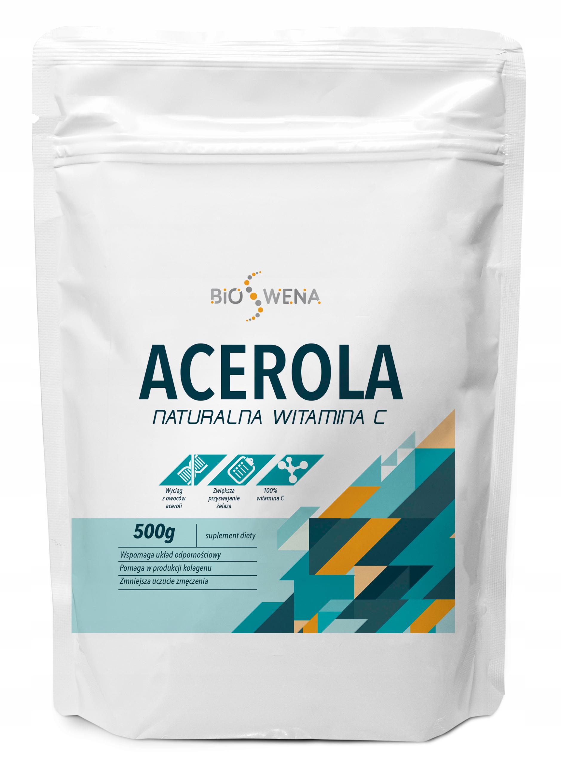 ACEROLA POWDER 500г NATURAL VITAMIN C VEGE BIO