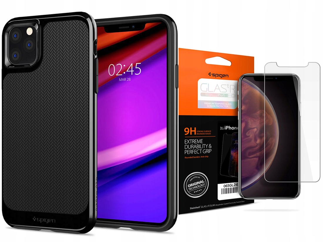 Spigen Neo Hybrid Etui Do Iphone 11 Pro +szkło Sgp