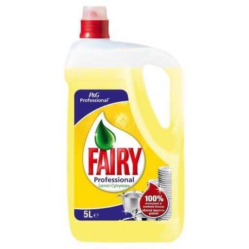 FAIRY 5l Лимонная жидкость для мытья посуды
