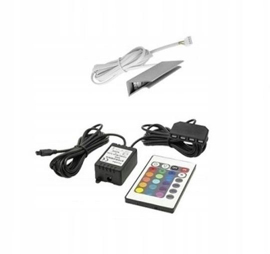 1 bodové LED KLIPEX osvetlenie RGB + diaľkové ovládanie