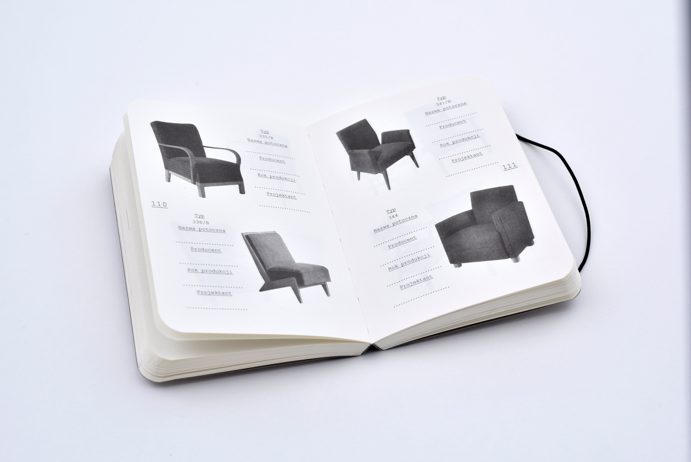 Item catalogs of furniture pnrm / chairs, armchairs