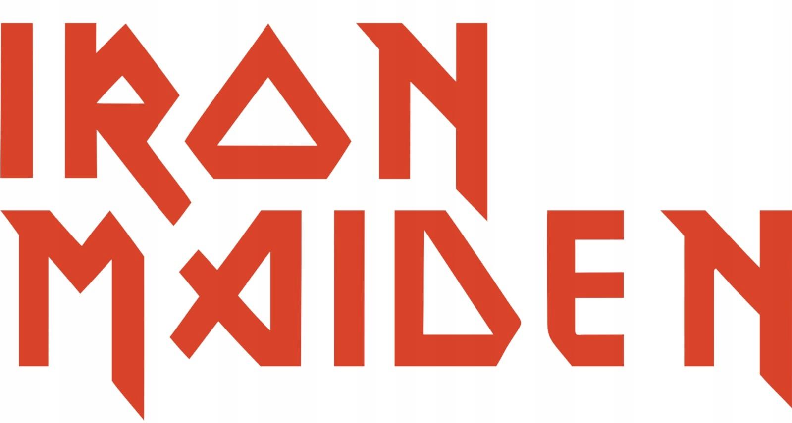 Item Iron Maiden sticker 16 cm x 8 cm film 3M 1080