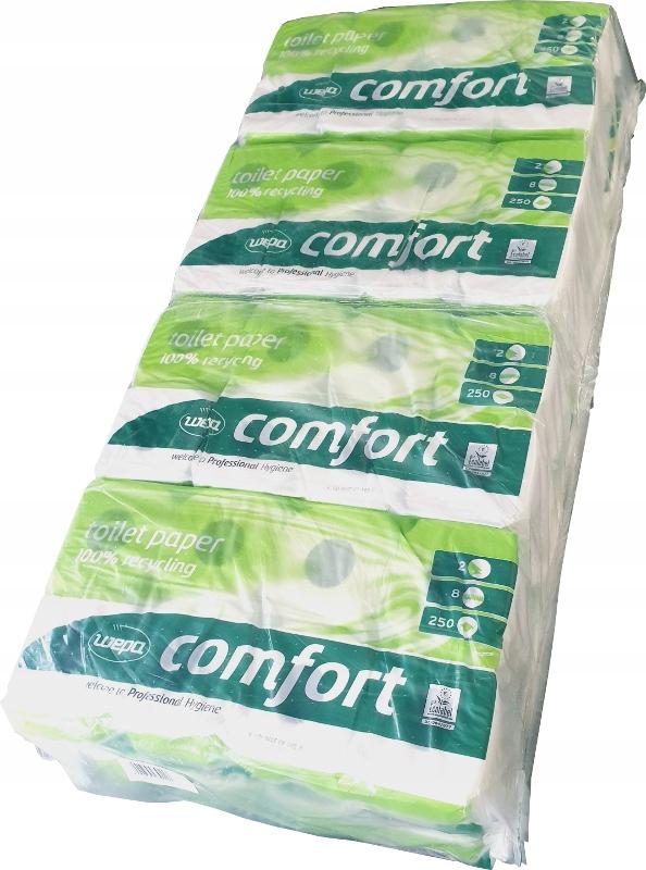 WEPA Comfort туалетная Бумага мягкий 2w - 64 роликов