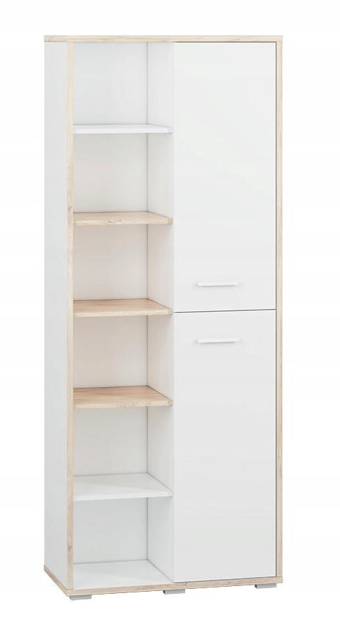 24 MDD24 nábytok KUBU 03 Rack biely dub