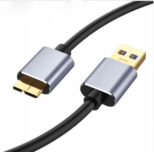 КАБЕЛЬ USB 3.0 КАБЕЛЬ ДЛЯ ВНЕШНЕГО HDD 1м