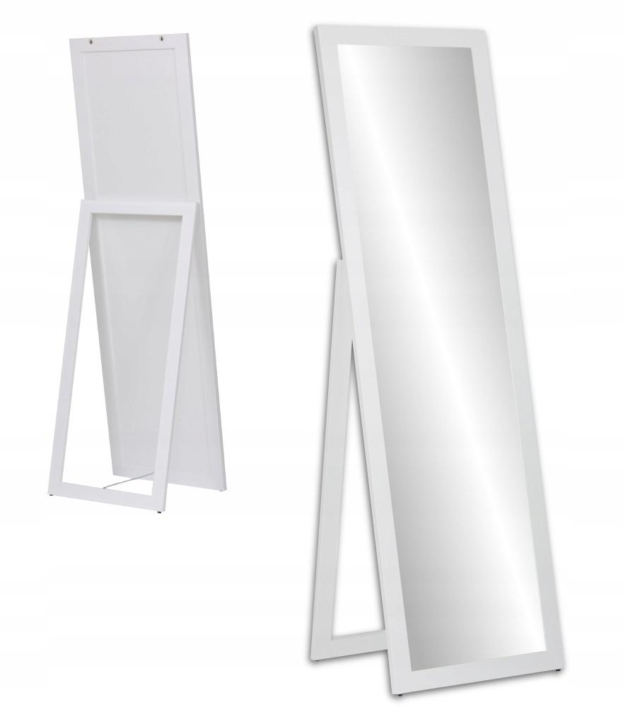 Зеркало БОЛЬШОЕ НАСТОЯЩЕЕ в раме 170x50 белое 9 цветов