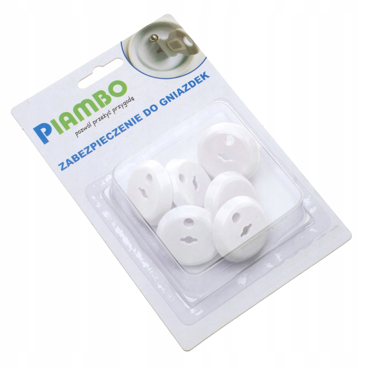 Item PROTECTION CONTACT SOCKETS WITH EARTHING 6 PCS.