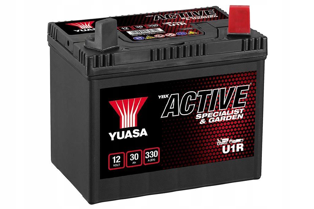 Právo 30Ah batérie+ YUASA U1R Záhrade trávu