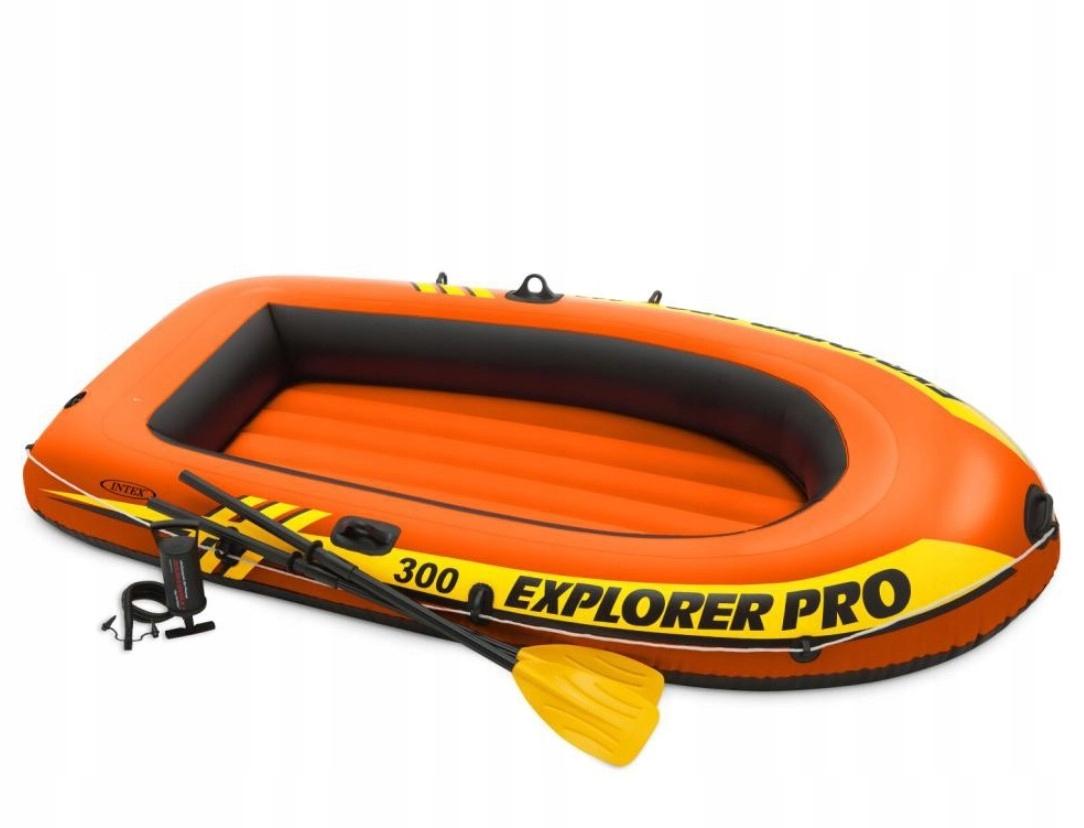 Pontonik Explorer Pro 300 sada Intex 58358