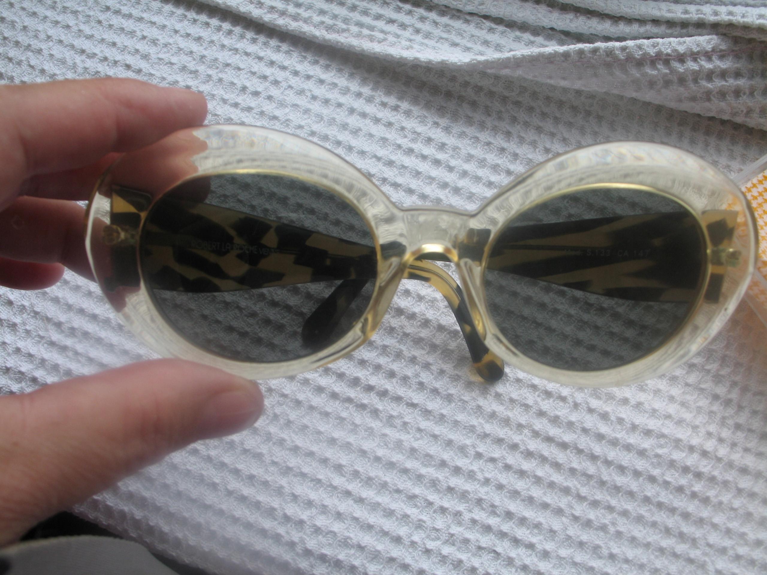 retro slnečné okuliare Robert La Roche Viedeň