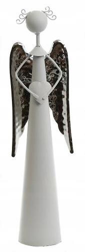 Figurka Aniołek Metalowy Dekoracja 30cm Walentynki