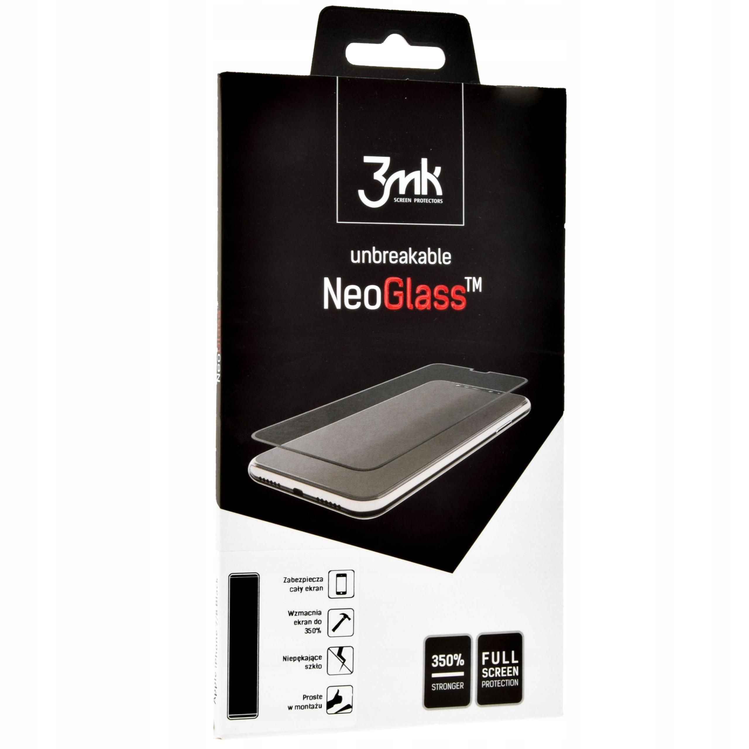 Szkło ochronne 3mk do iPhone Xs Max, szybka, Ng