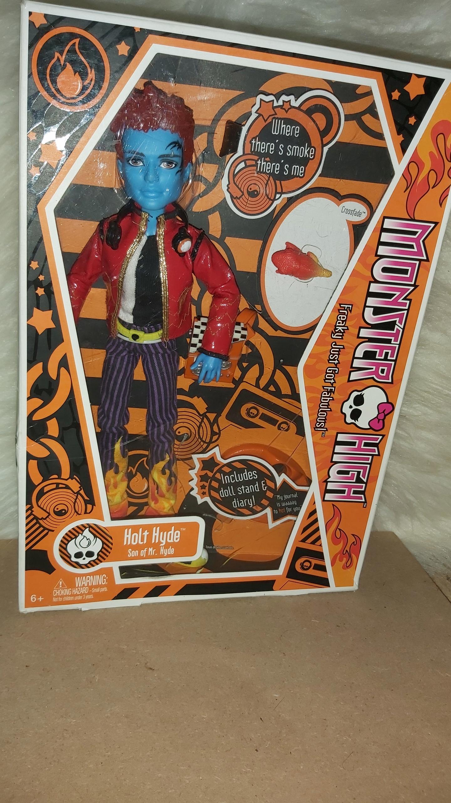 Spoločnosť Monster High Hyde Holt