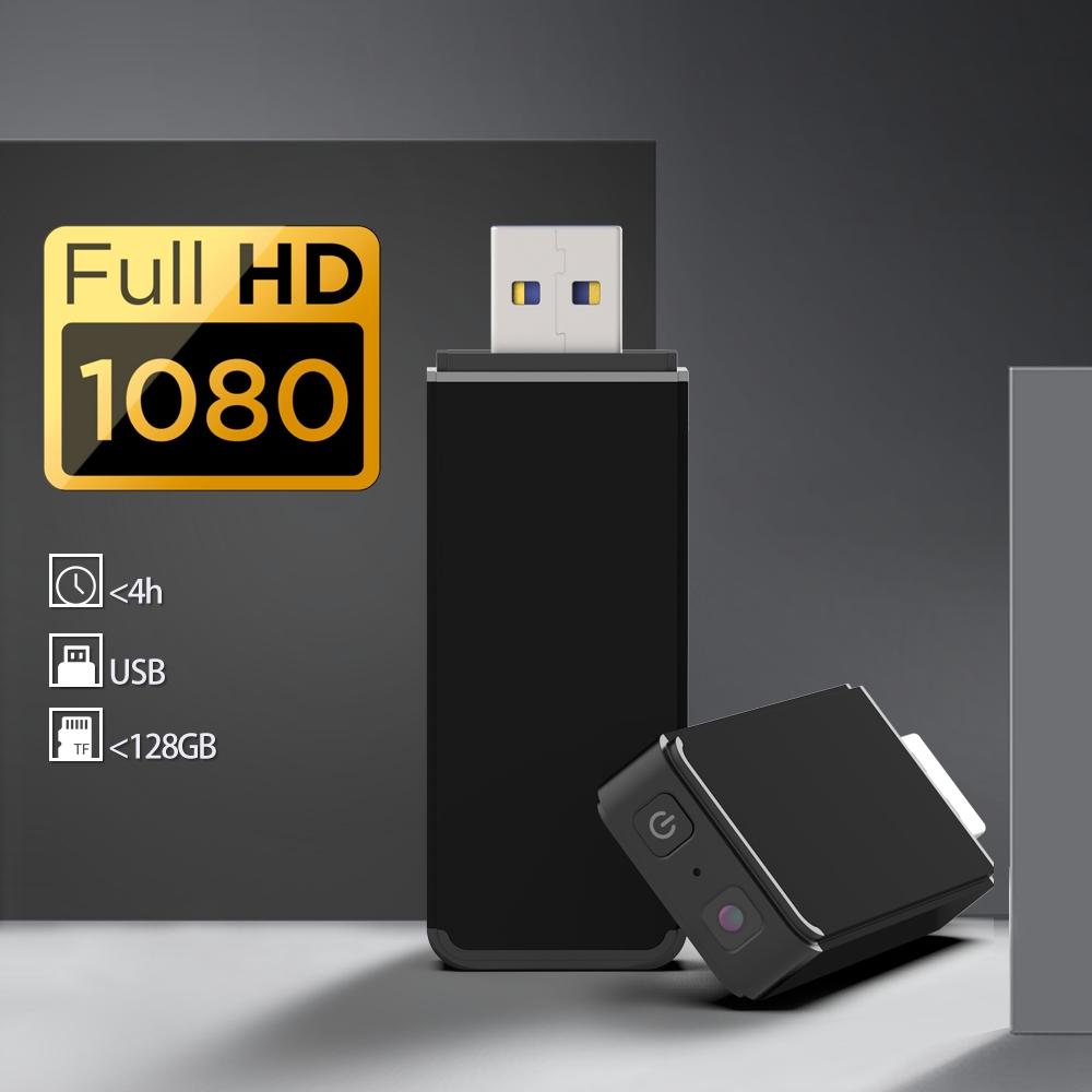 PENDRIVE MINI KAMERA USB FULL HD DETEKCJA DO 128GB Marka inna