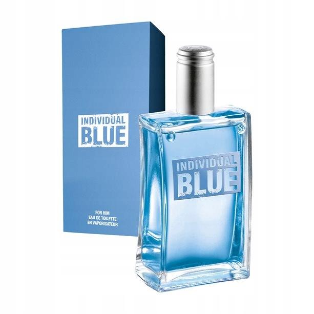AVON Woda toaletowa INDIVIDUAL BLUE 100 ml +GRATIS
