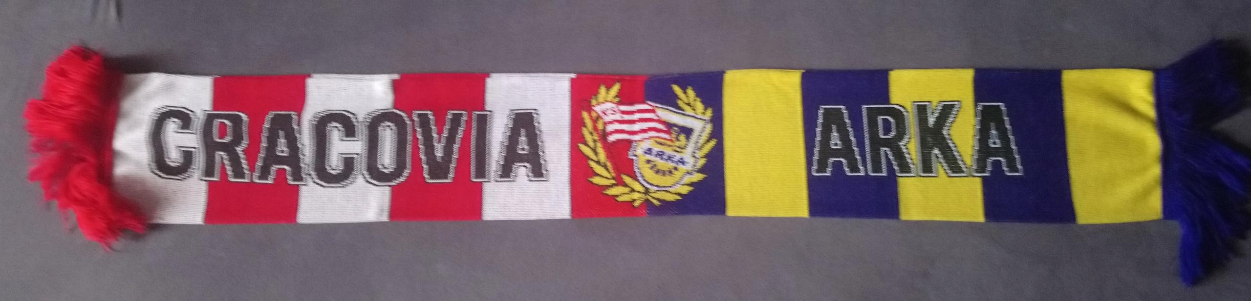 Купить шарфик CRACOVIA Краков  НОЕВ Гдыня BRATERSKI на Eurozakup - цены и фото - доставка из Польши и стран Европы в Украину.
