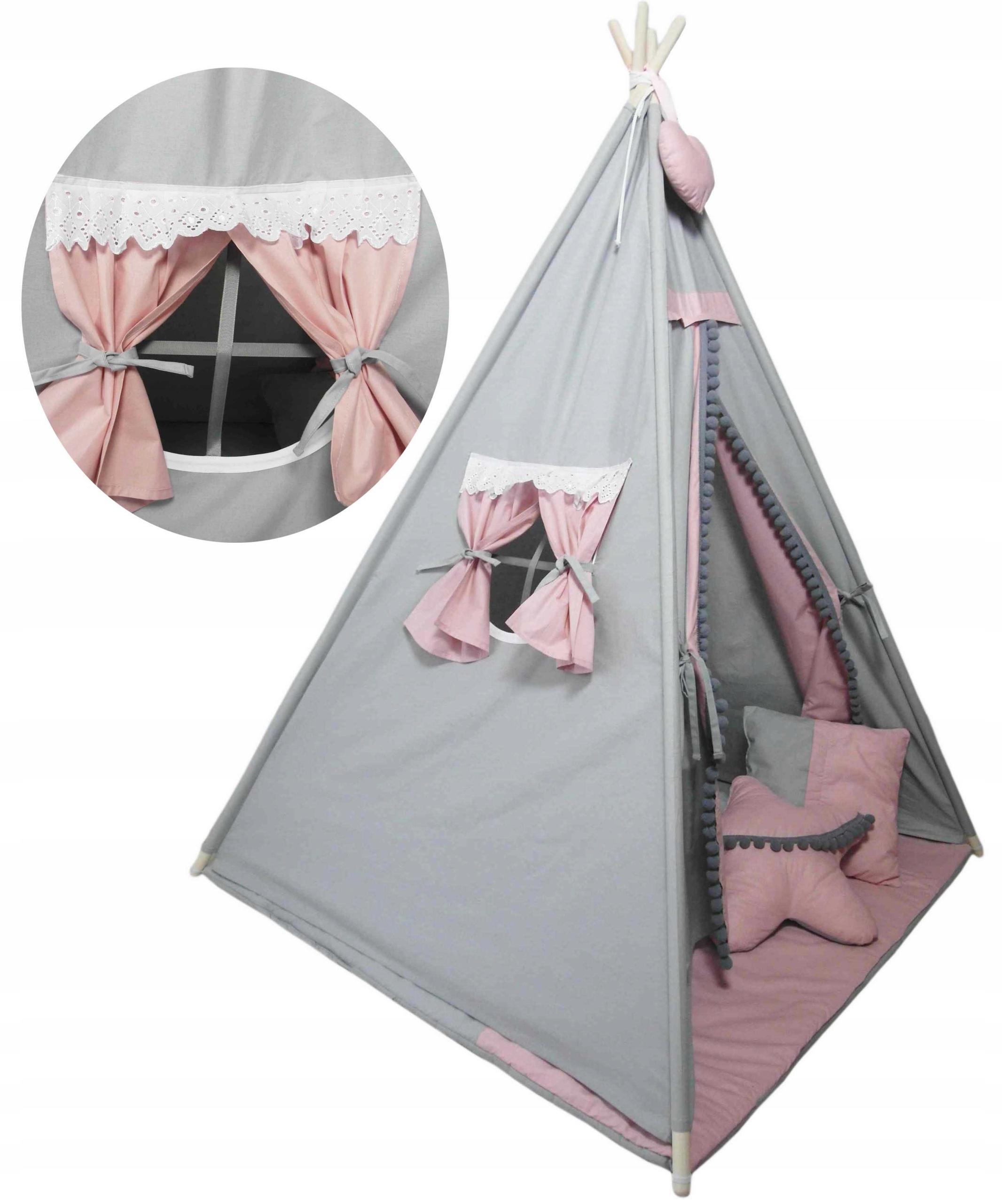 Хлопковая палатка Teepee Wigwam для детей Бесплатно!