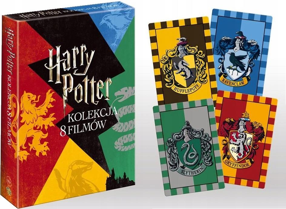 HARRY POTTER  pełna kolekcja lata 1 7 BOX 8 DVD