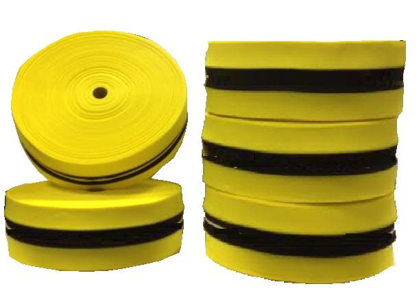 Предупреждение лента Parciana желто-черный 100mb BHP