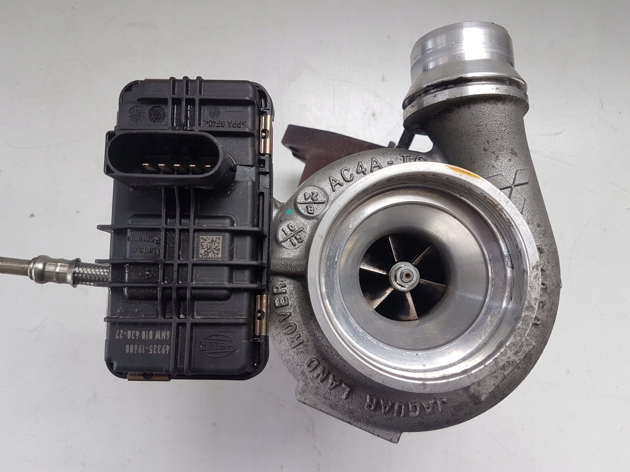 турбокомпрессор jaguar xe xf ii x260 f-pace 20 d