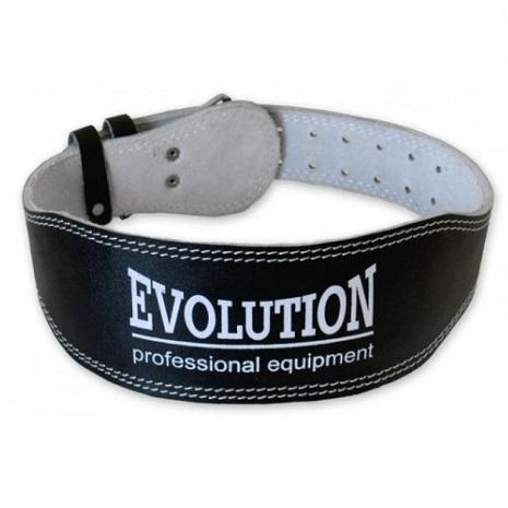 Kožený opasok pre kulturistiku EVOLUTION veľkosť M