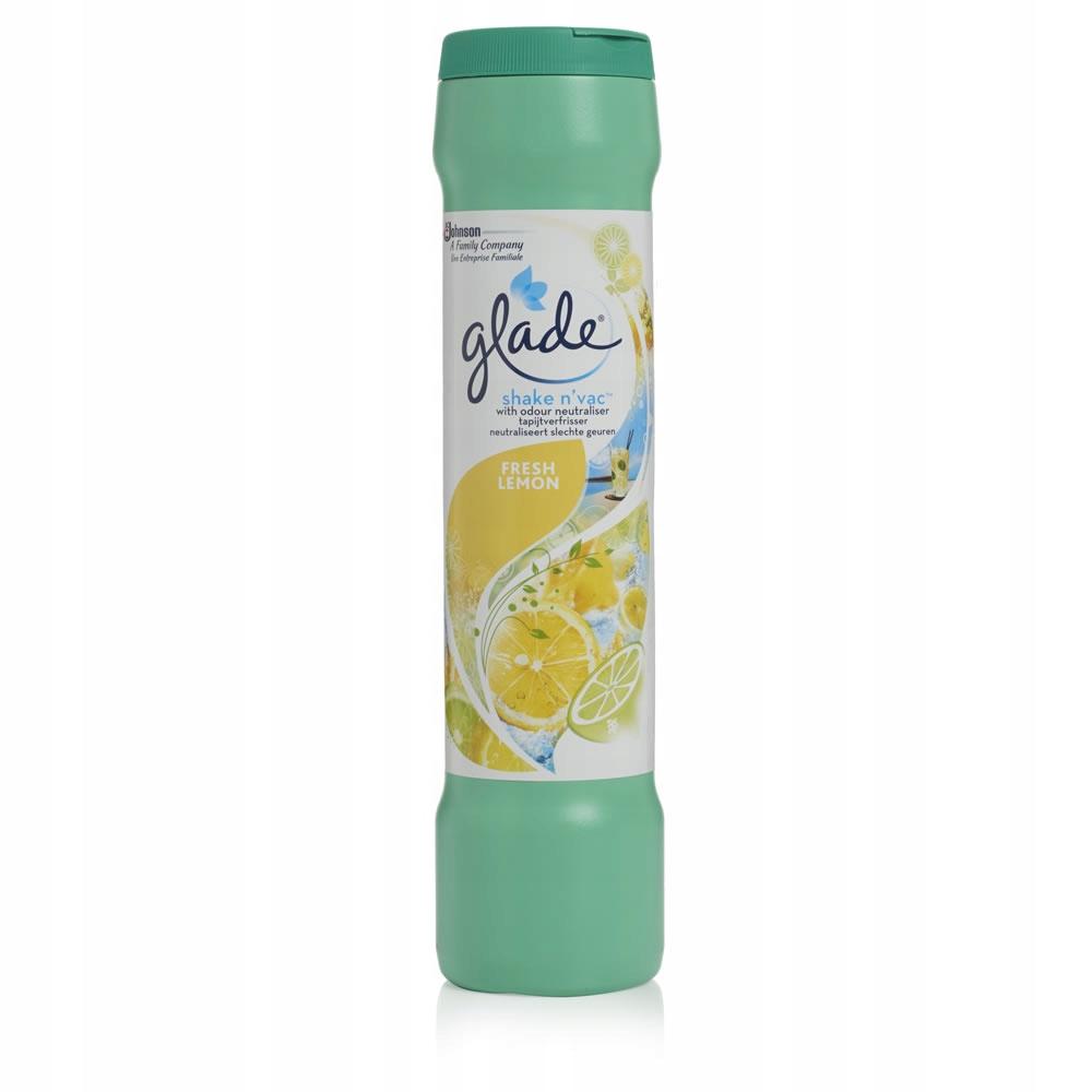 GLADE порошок для освежения ковров Лимон 500g