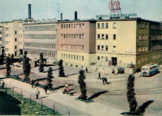 Pohľadnica Rzeszów L. Świecki Street Adam Asnyka