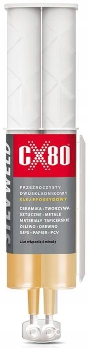 CX-80 SILVWELD ДВУХКОМПОНЕНТНЫЙ ЭПОКСИДНЫЙ КЛЕЙ