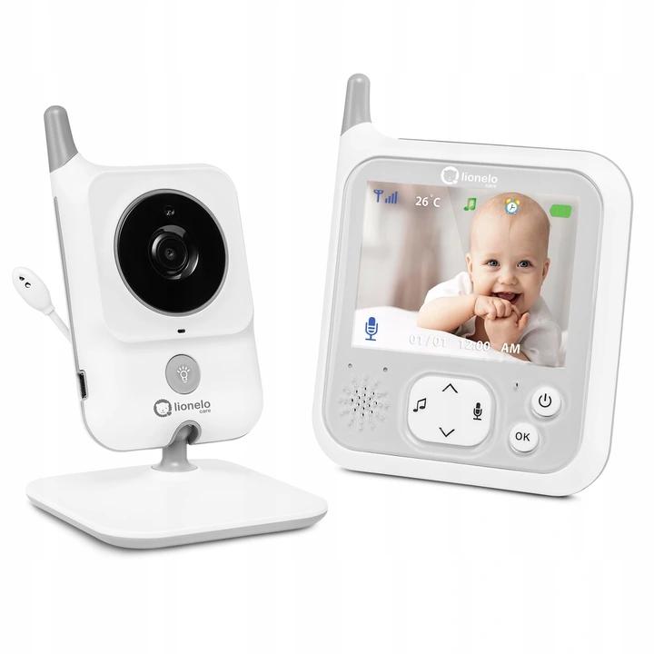 Niania Elektroniczna Lionelo Babyline 7.1 Kamera