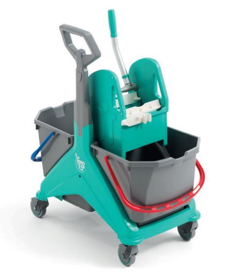 Wózek sprzątający zestaw dwuwiaderkowy NIKITA !!