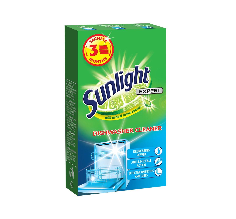 Sunlight средство для очистки посудомоечной машины 3 sasz.