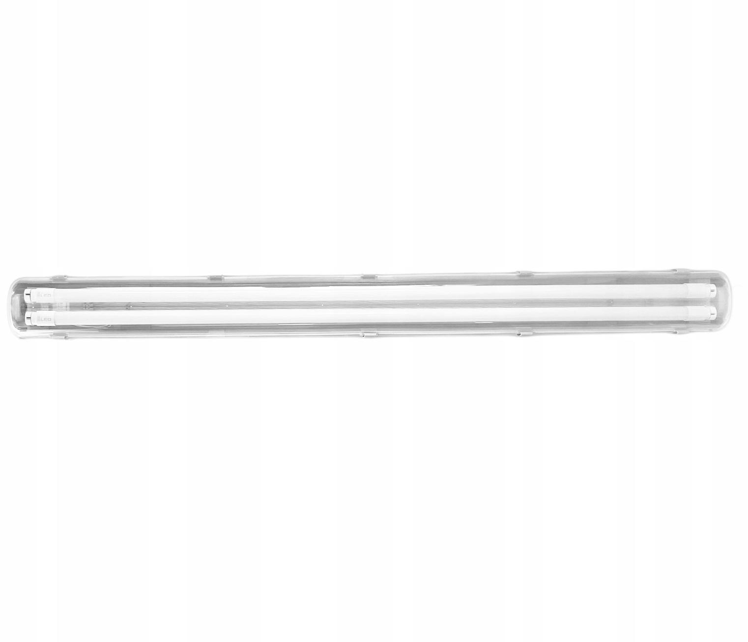 СВЕТИЛЬНИК ГЕРМЕТИЧНЫЙ 120см + 2 Лампы LED 40W