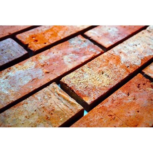 Dlaždice Starý Tehlový Gotický Tvár dlaždice retro
