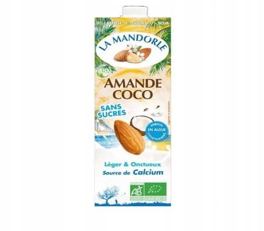 Nápoje (Mlieko) mandľový, kokosový 7+1, bez laktózy