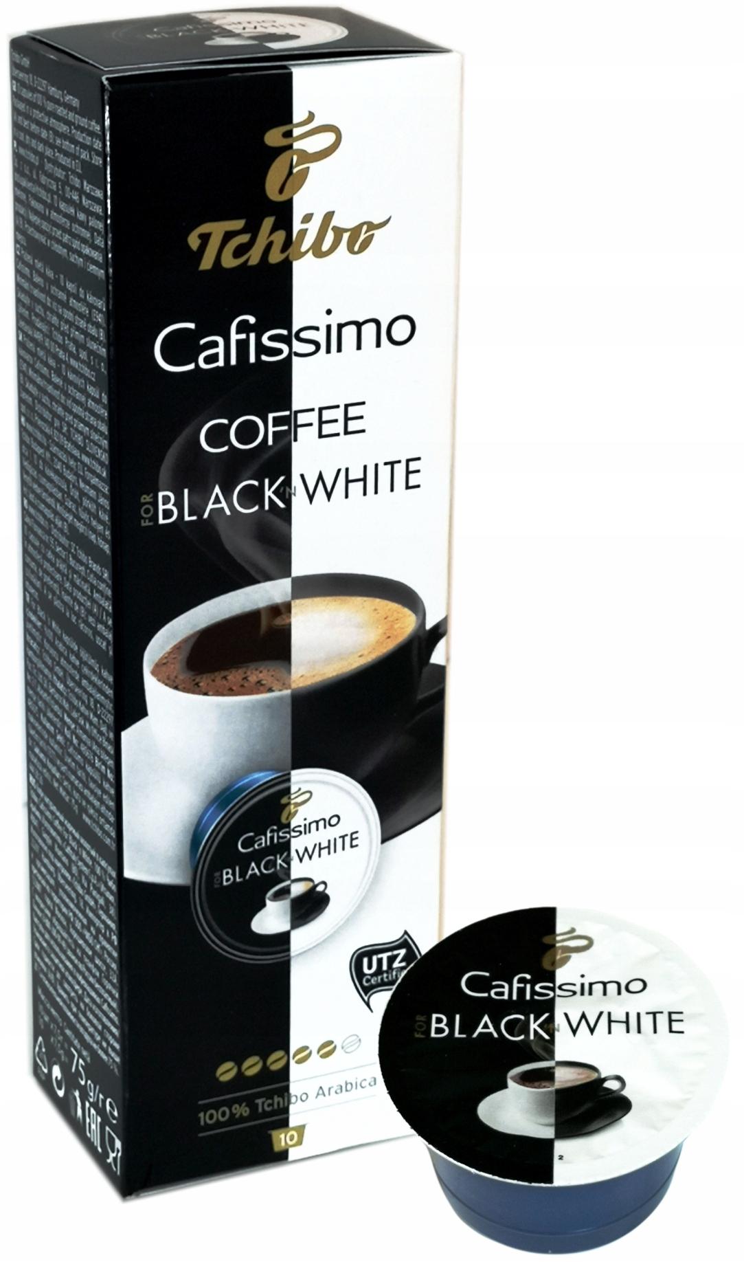 TCHIBO CAFISSIMO BLACK N WHITE 10 KAPSUŁEK