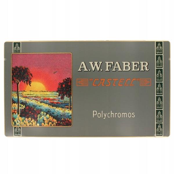 Farebné ceruzky Polychromos Retro 36 farby Faber-Castell