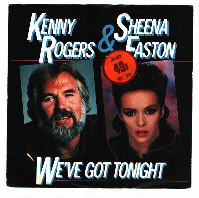 Kenny Rogers Sheena Easton We X27 Ve Got Tonight 9398272952 Allegro Pl