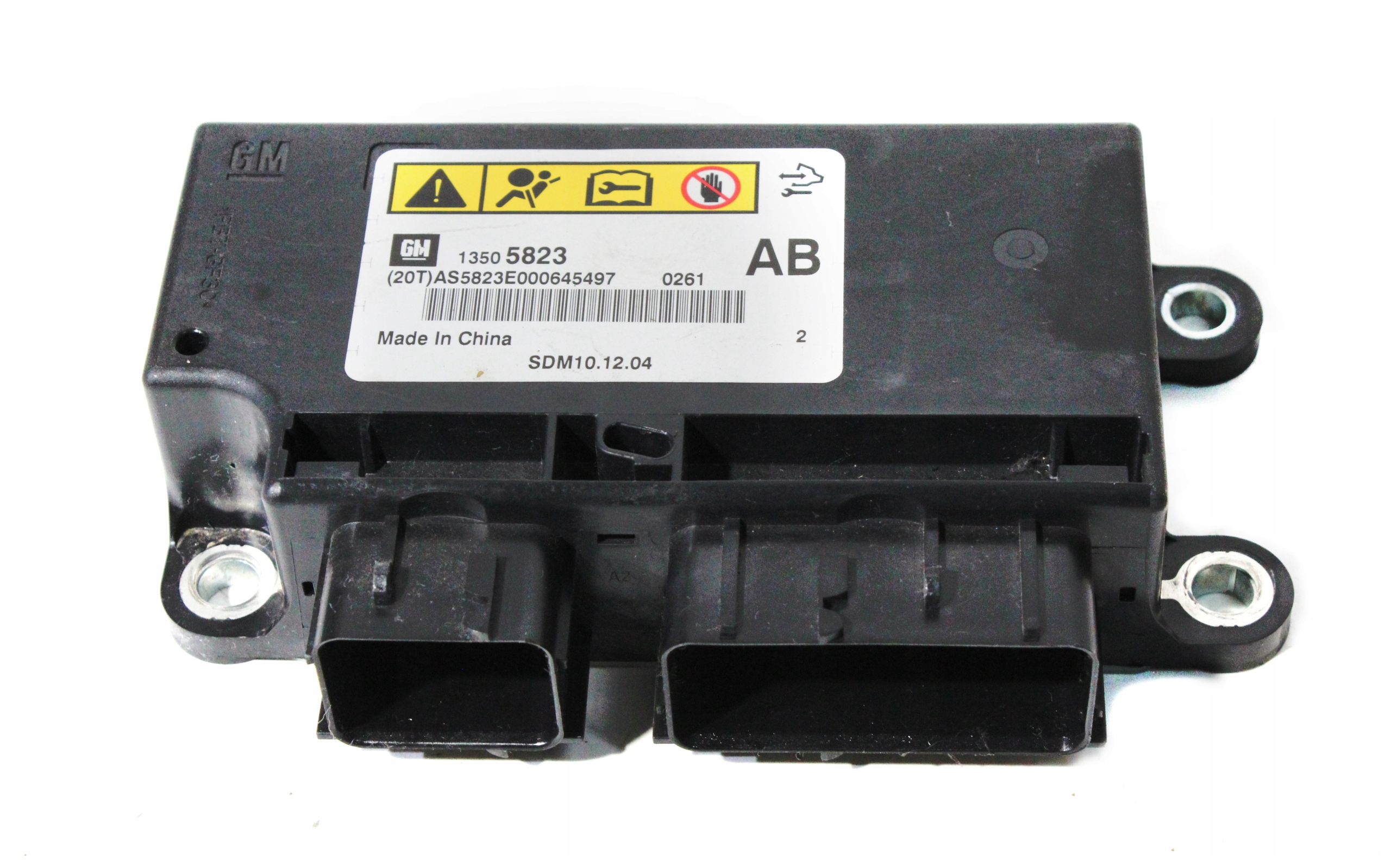 chevrolet орландо модуль драйвер airbag 13505823