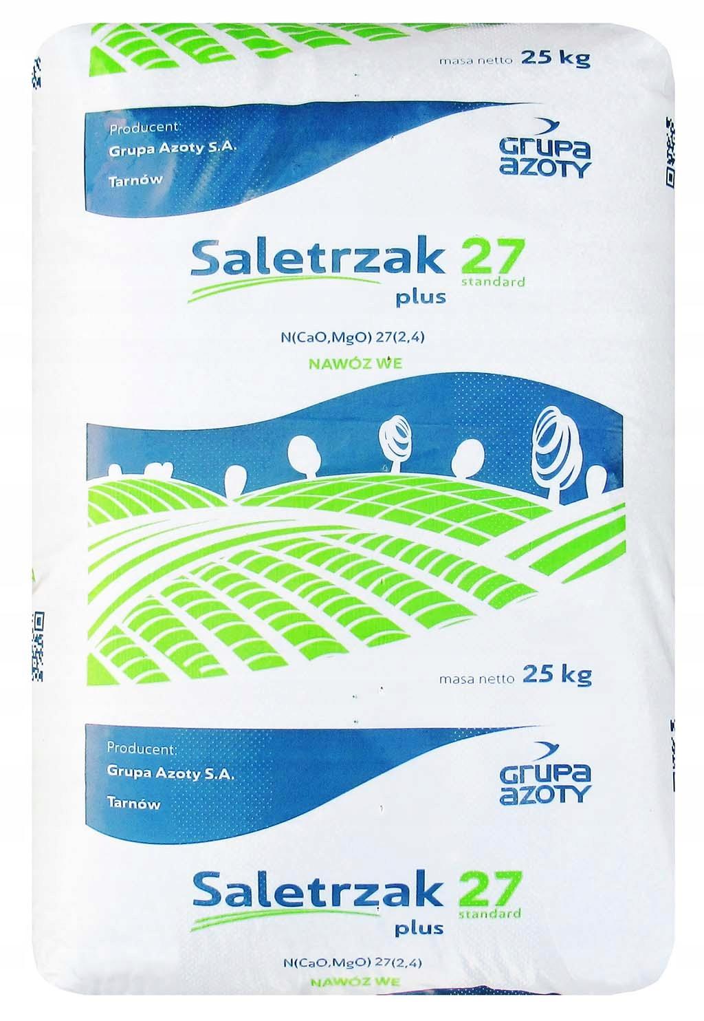 Saletrzak 27 Standard Plus 25 кг азотное удобрение