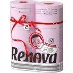 Renova Maxi розовый бумага 6 рулонов