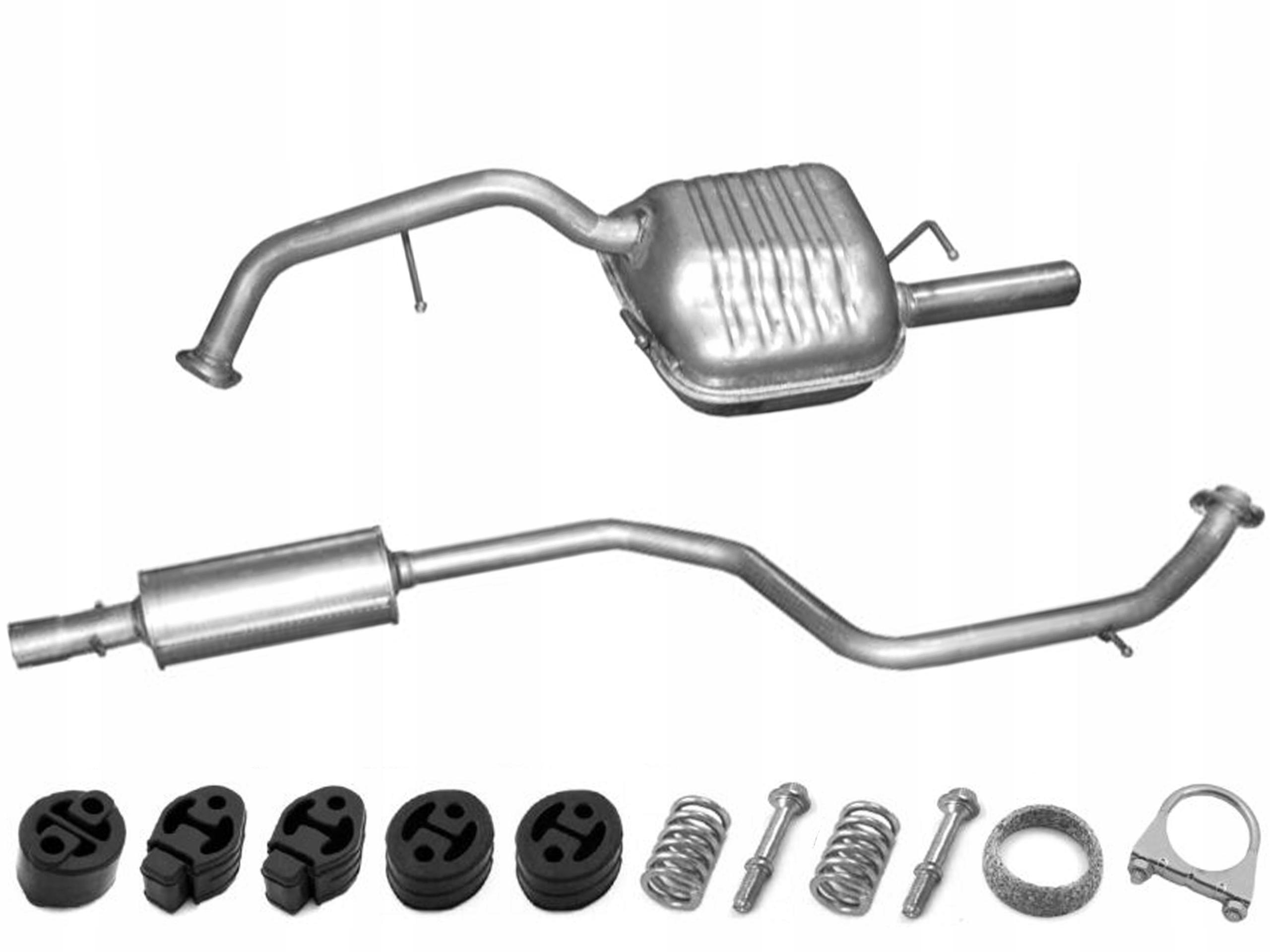 mazda 5 - 18  20 бензин глушители + макс комплект