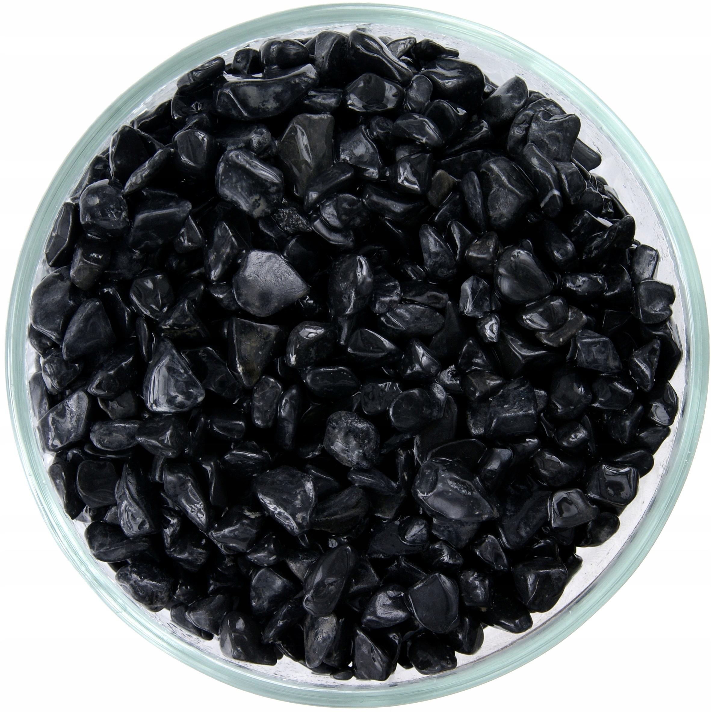 Kamienkové Black Nero 6-9mm kameň v základoch 25 kg
