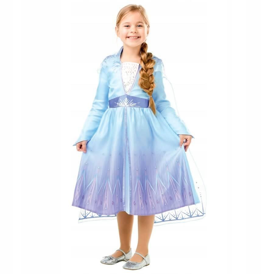 Kostým Elsa Frozen 2 Frozen L 128 7-8
