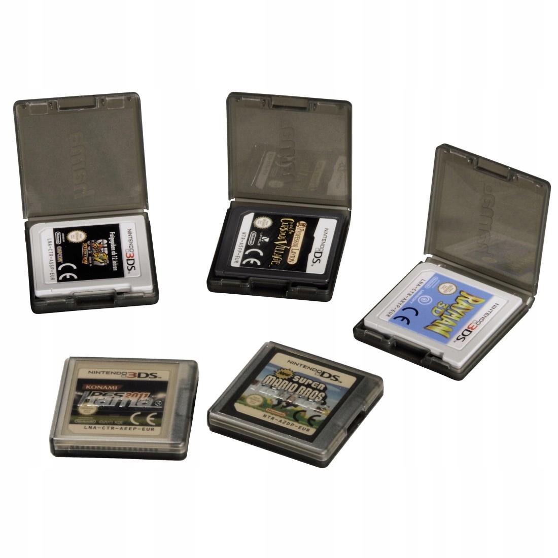 Item HAMA Case Box for Nintendo Games 5 in 1