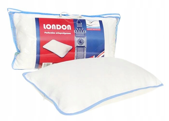 Poduszka Ortopedyczna London Producent Sapporo 8372290137 Allegro Pl