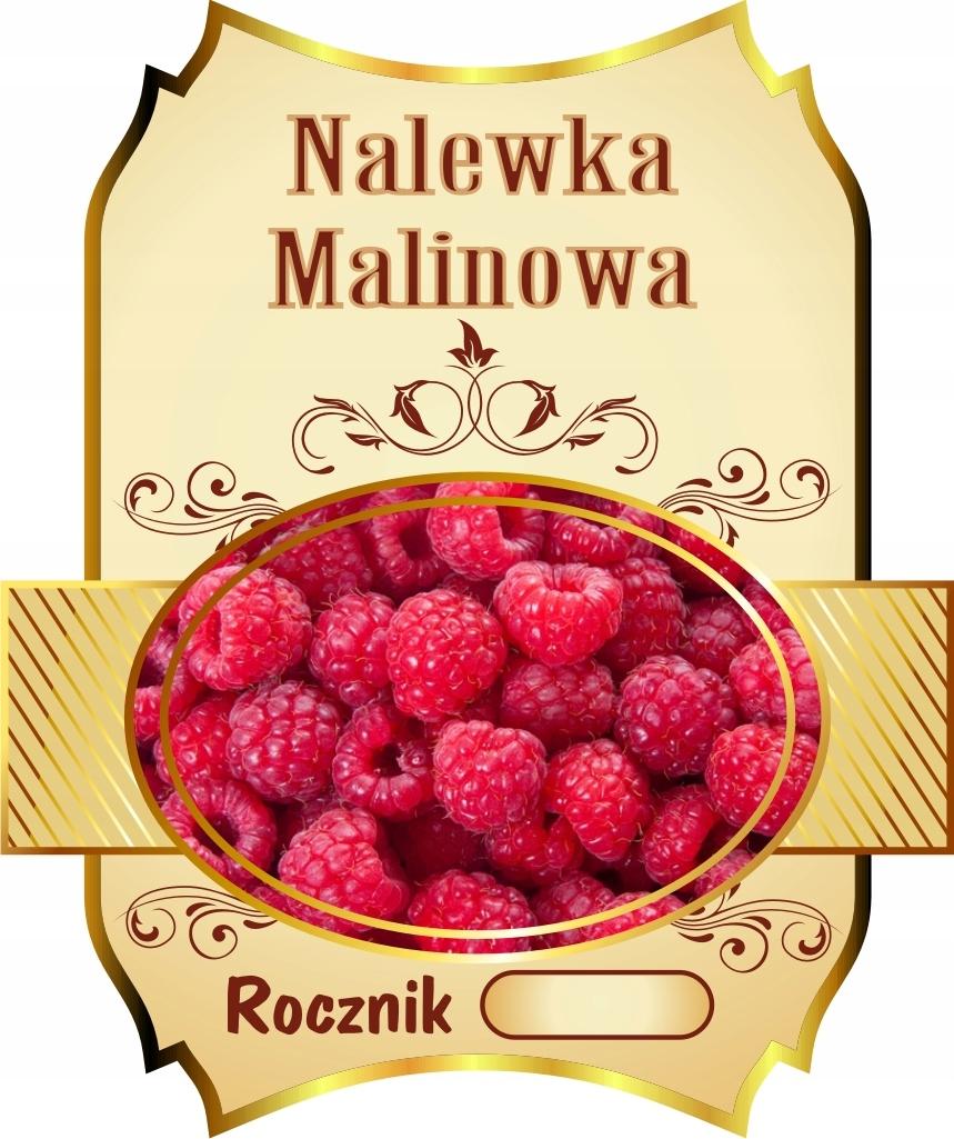 Naklejki Nalewki Butelki Etykiety Wodoodporne 8szt 8313139055