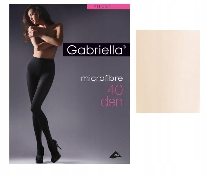 Gabriella rajstopy microfibre den 40 Ecri 4