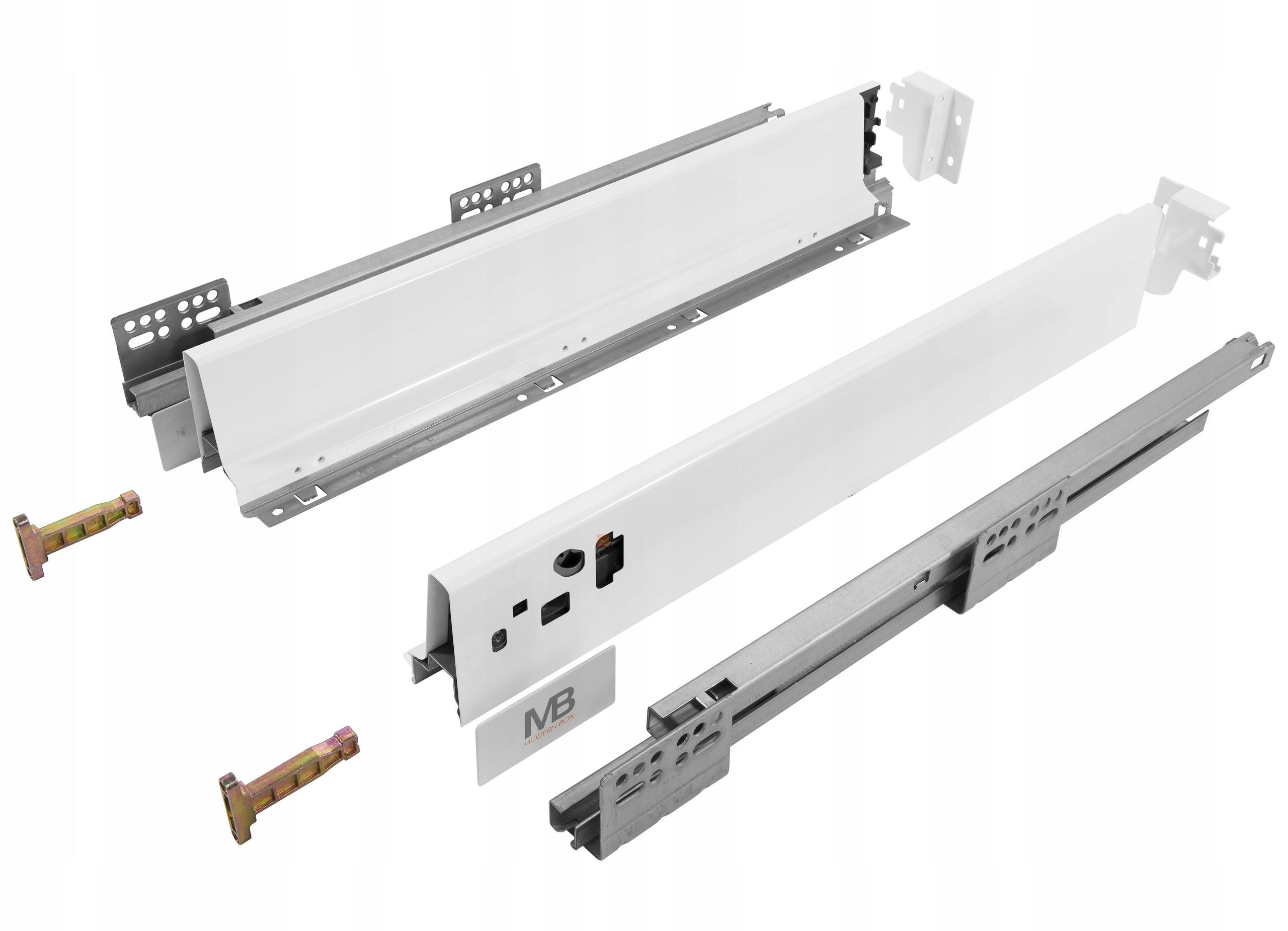 Box MODERNBOX L-500mm Nízke biele GTV