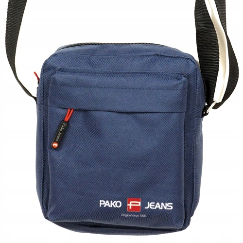 Mała torba listonoszka na ramię granat Pako Jeans