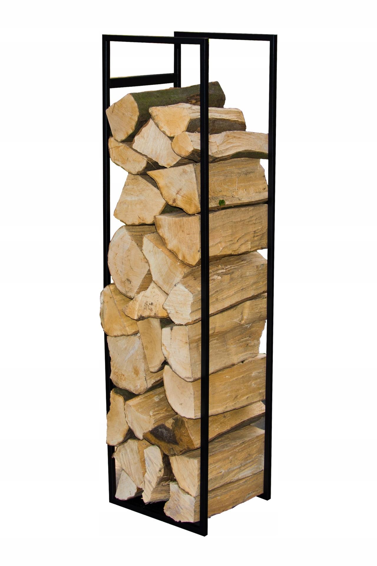 Подставка для дров, корзина на дерево 120 см ЧЕРНЫЙ